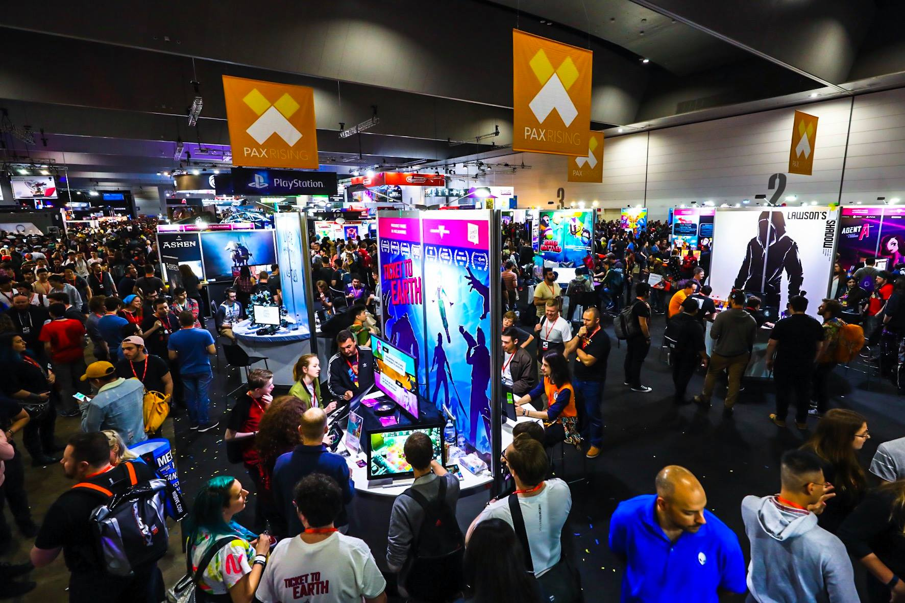 Photo credit: PAX Australia facebook page